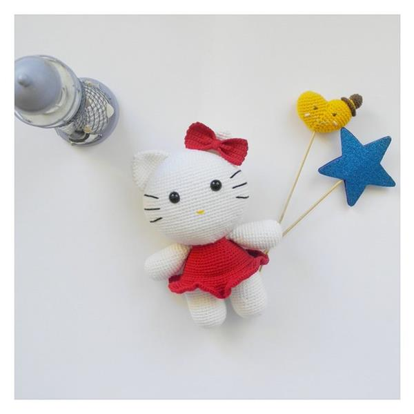 Amigurumi hello kitty | Hello kitty crochet, Hello kitty toys ... | 600x600